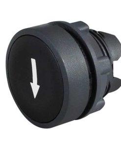 0-657-32 – Push Button Black  – Qty. 1