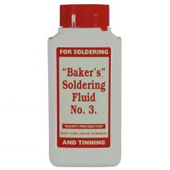 "0-664-25 – Soldering Fluid ""Baker""s No 3"" 250ml Bottle – Qty. 1"