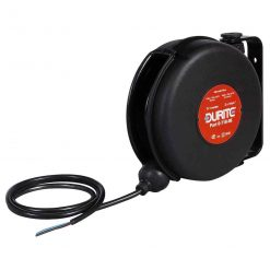0-718-08 – Retractable Cable Reel 2 Core 7+1 metres  – Qty. 1