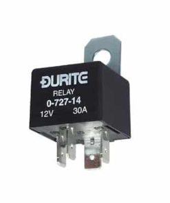 0-727-14 – Relay Mini Make/Break 30 amp 12 volt with Diode  – Qty. 1