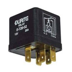 0-728-02 – Relay Latching 25 amps 12 volt  – Qty. 1