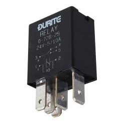 0-728-25 – Relay Micro Change Over 5/10 amp 24 volt with Diode  – Qty. 1