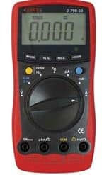 0-798-50 – Multimeter Digital Auto-ranging Hand Held  – Qty. 1