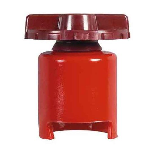 1-015-00 – Battery Terminal Positive French Type Red – Qty. 1