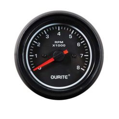 0-525-80 – Tachometer Marine LED Illuminated 0-8000rpm 85mm 12/24 volt  – Qty. 1