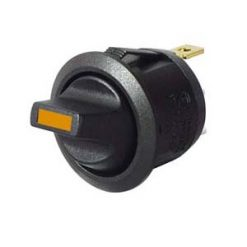 0-531-60 – Switch Toggle Round On/Off Amber LED 12/24 volt  – Qty. 1
