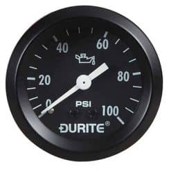 """0-533-16 – Oil Pressure Gauge 52mm Mechanical with 12"""" Capillary  – Qty. 1"""