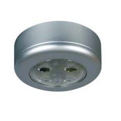 0-668-04 – Roof Lamp Silver with Switch LED 12/24volt  – Qty. 1