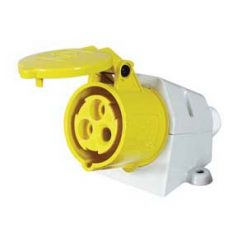0-698-69 – Socket Surface Mounted 16 amp 110 Volts  – Qty. 1