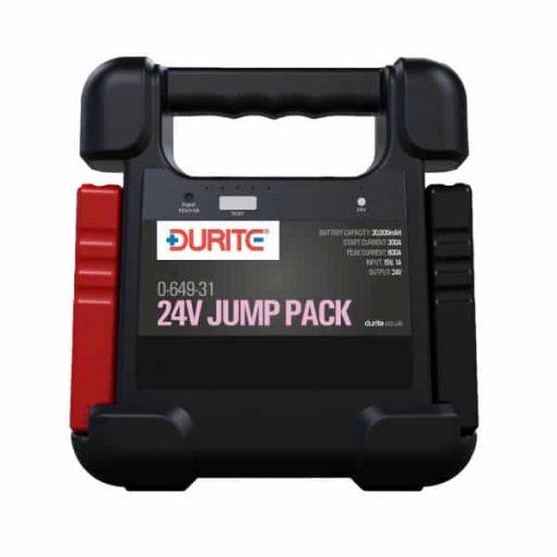 DISCONTINUED 0-649-31 - 24V Jump Starter  30,000mAH Li-Polymer Battery