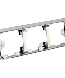 125B3C - Triple Chrome Bracket