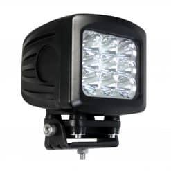 13590SBM - High Intensity Large Square 90W Work Lamp w/ Black Housing