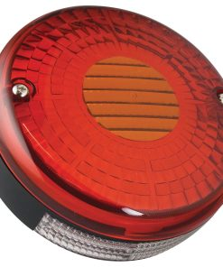140STILM - Round 140mm Stop/Tail, Indicator Lamp w/ License Plate Lam