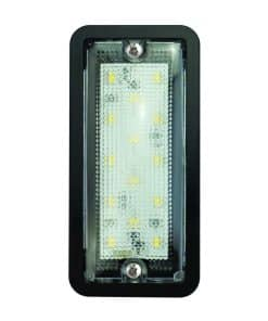 148BW12 - Interior Lamp - 12v (Black Bezel)