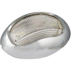 52CW - Stern Navigational Lamp (Chrome Bezel)