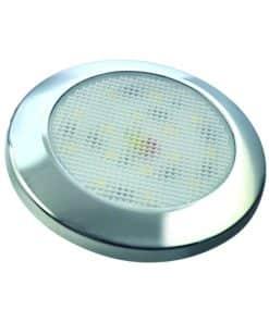 7515C-WW - Interior Lamp - Round 15 Warm White LED's 12v Chrome Bezel