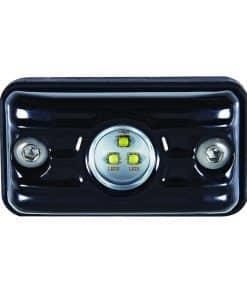 7815BM - Small Rectangular 3 x 5W LED Scene Light w/ Black Housing