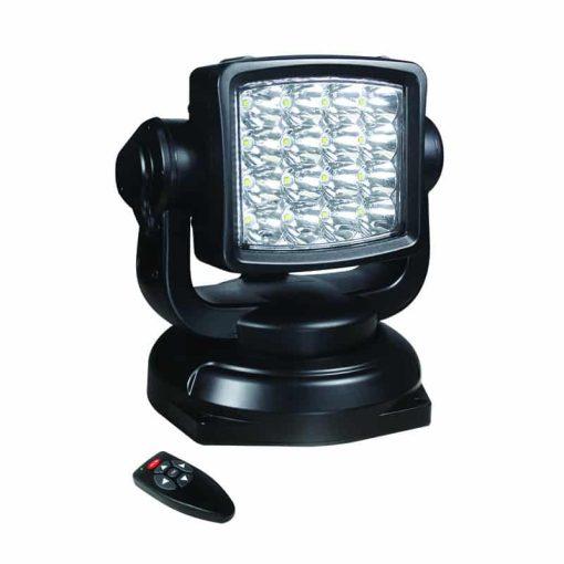 RCSL80BM - Remote Control 80W Search Light w/ Remote - 12/24v (Spot)